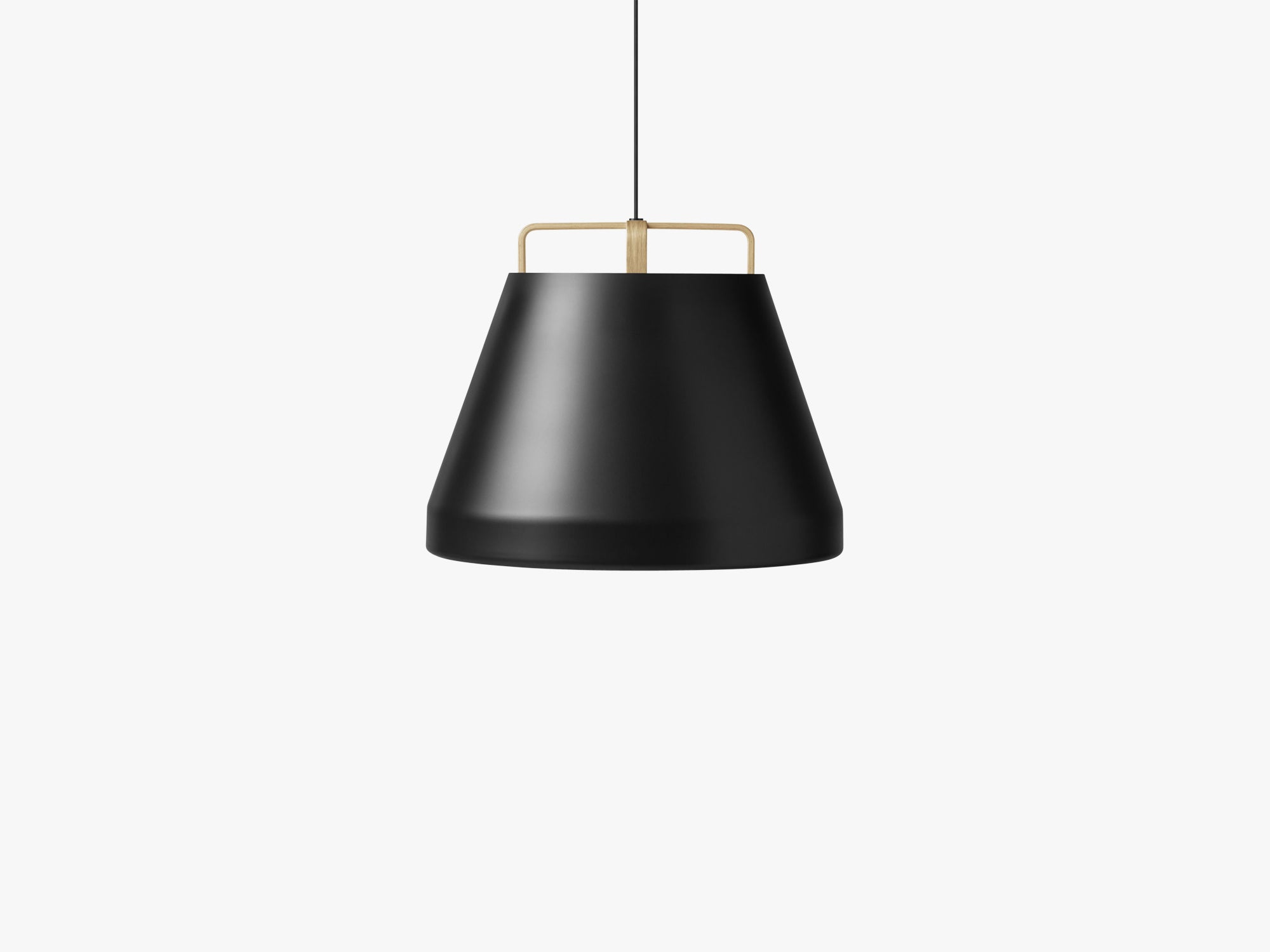 Voyage Pendant M1, Ø58 Black/Oak fra MILLION