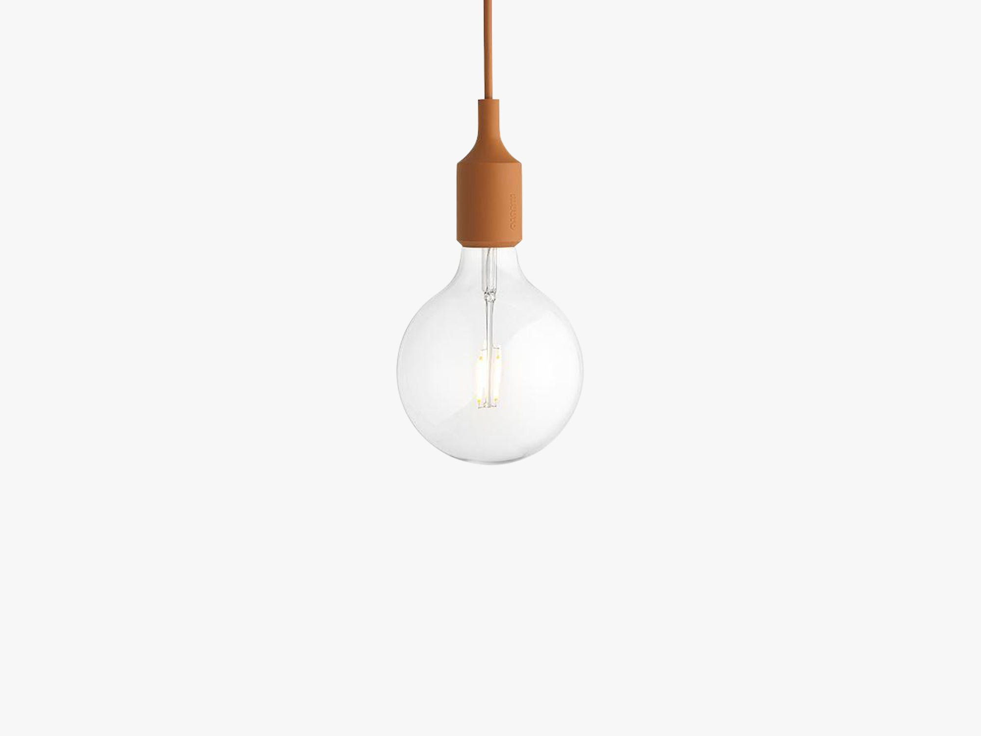 E27 Pendant Lamp, Clay Brown fra Muuto
