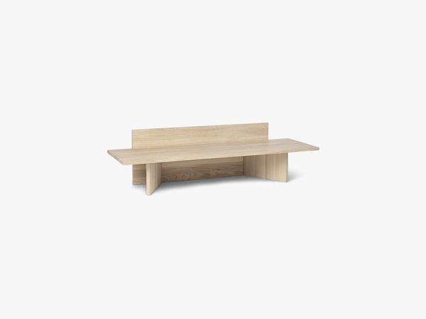 Oblique Bench - Natural Oak fra Ferm Living