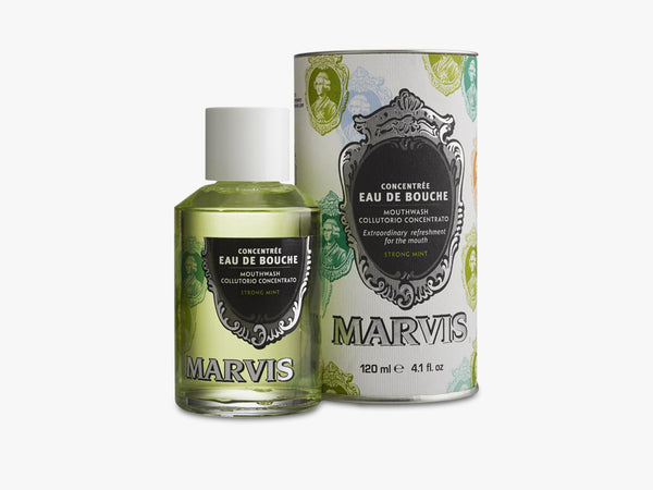 Marvis 120 ml, Strong Mint Mouthwash fra MARVIS