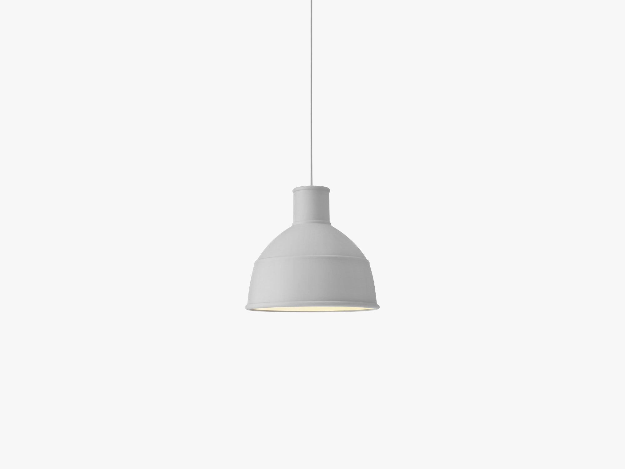 Unfold Pendant Lamp, Light Grey fra Muuto
