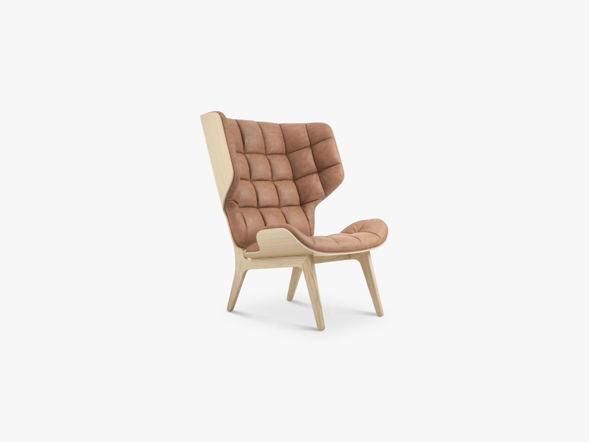 Mammoth Chair, Naturel/Camel fra NORR11