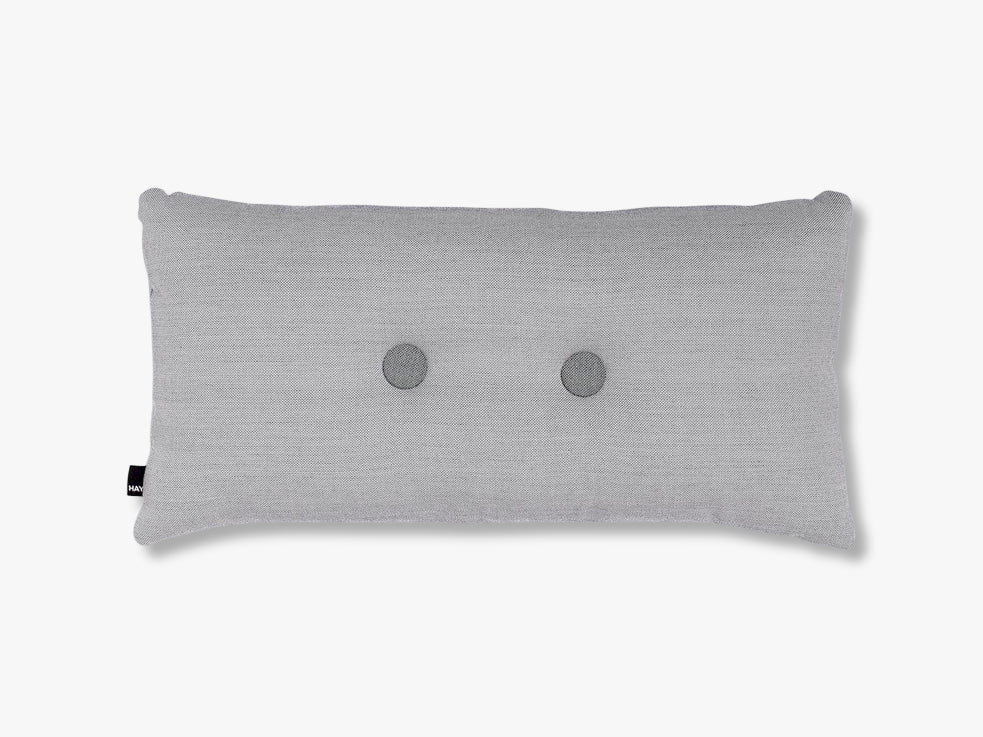 Dot Cushion Surface 2 dots, Light grey fra HAY
