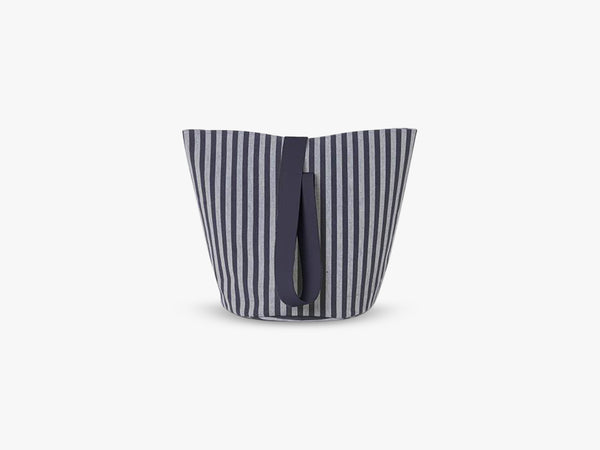 Chambray Basket Striped, Medium fra Ferm Living