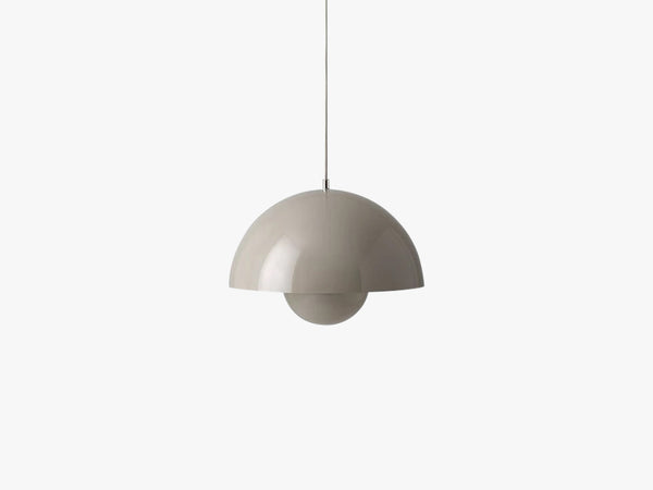 Flowerpot pendant VP7, grey beige fra &tradition