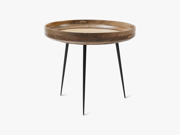 Bowl Table Large, Natural Lacquered Mango Wood fra Mater