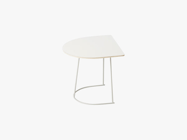 Airy Coffee Table - Half Size, Off-white - Nanolaminate fra Muuto
