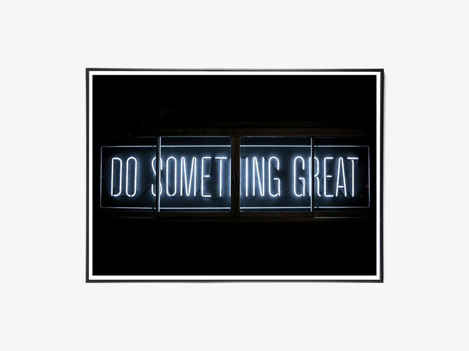 Do Something Great, Neon fra Moodings