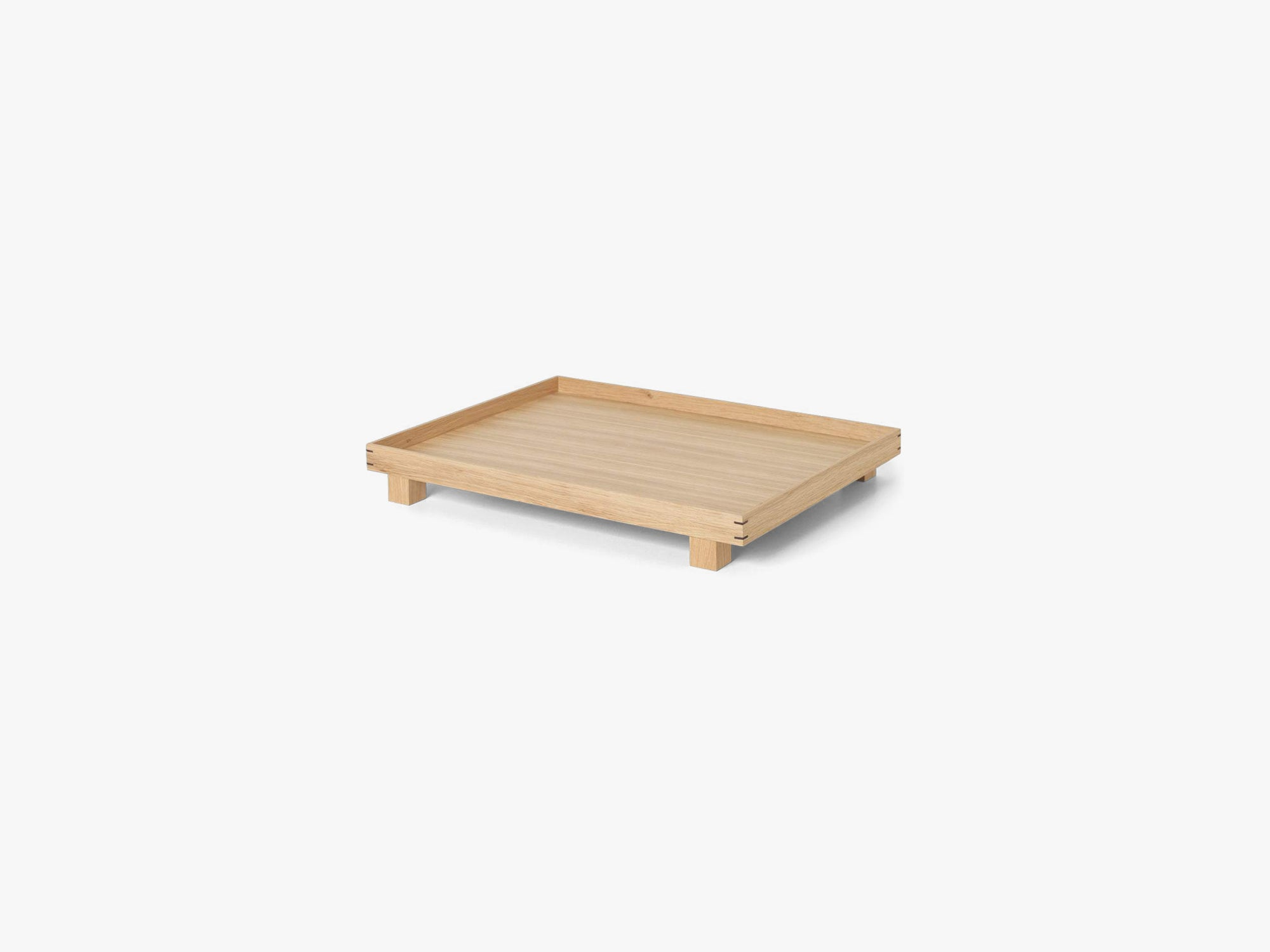 Bon Wooden Tray Small, Oak fra Ferm Living
