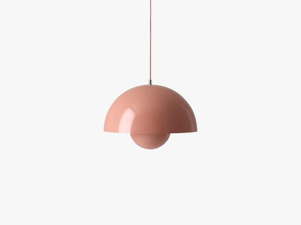Flowerpot pendant VP7, beige red fra &tradition