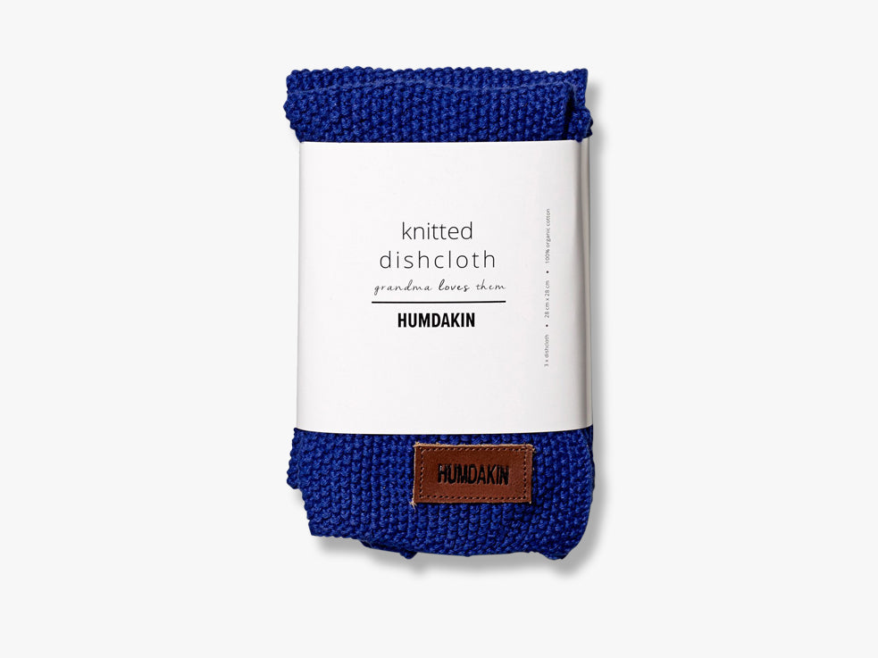 Knitted Dishcloths, Blue Cloud fra HUMDAKIN