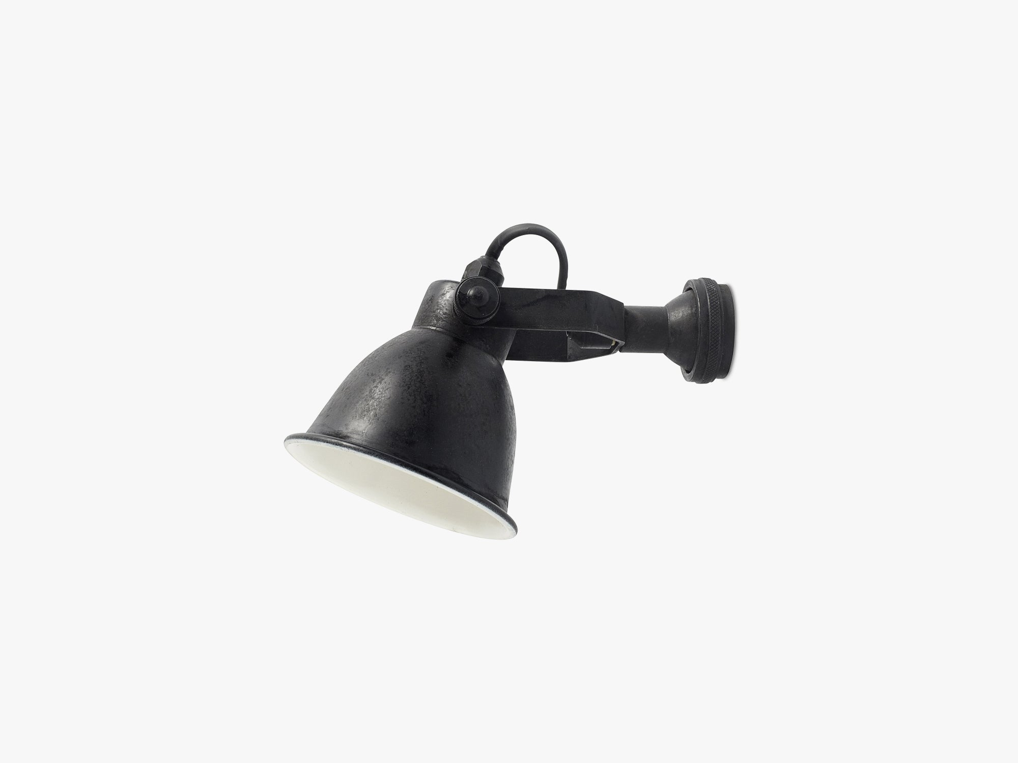 Wall lamp, black finish fra Nordal