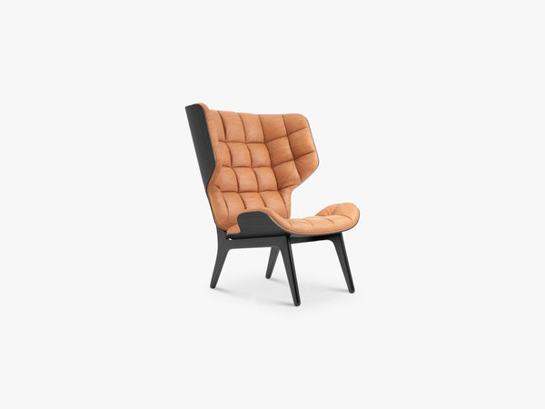 Mammoth Chair, Black/Cognac fra NORR11