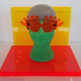 CYBER SLIME GLASSES - ORANGE