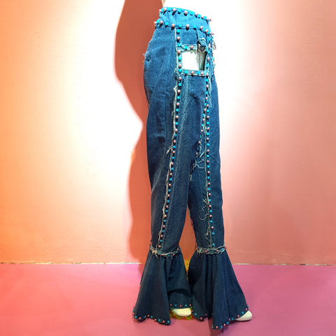 Denim Flare Boy Pants