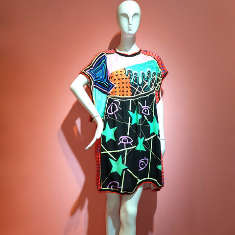 DRIPPY EYE IN THE SKY DRESS