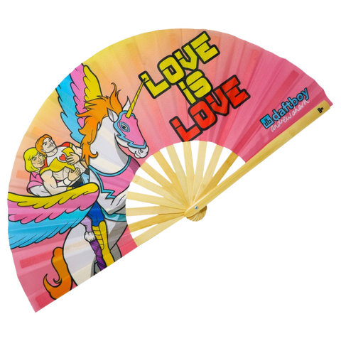 Love Is Love Fan
