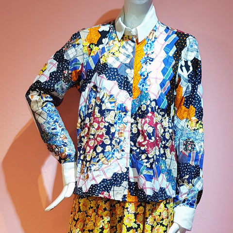 ROZEN PATCHWORK SHIRT
