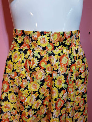 ESTHER SUNFLOWER SKIRT