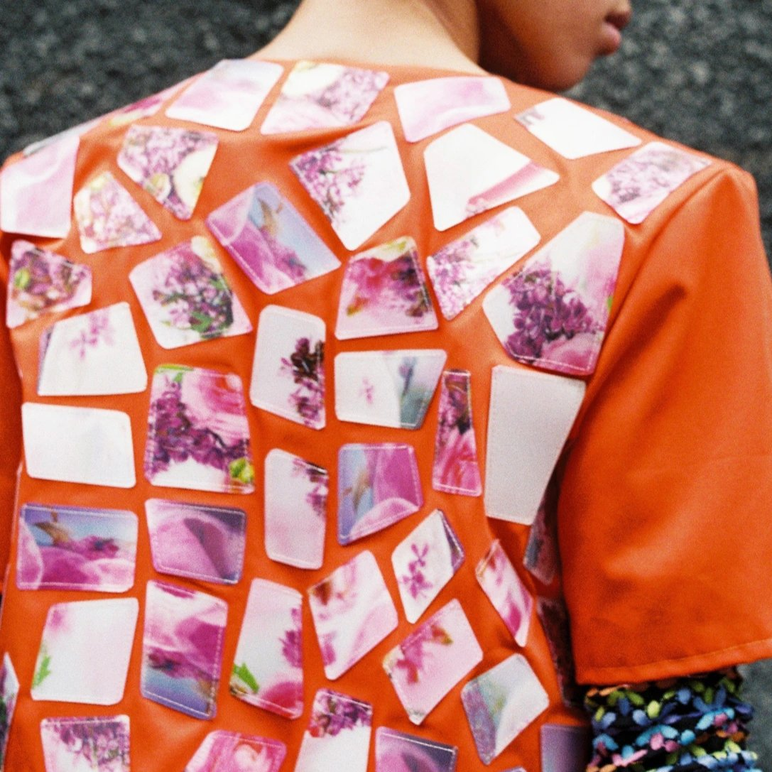 Cut Out Collage Jacket
