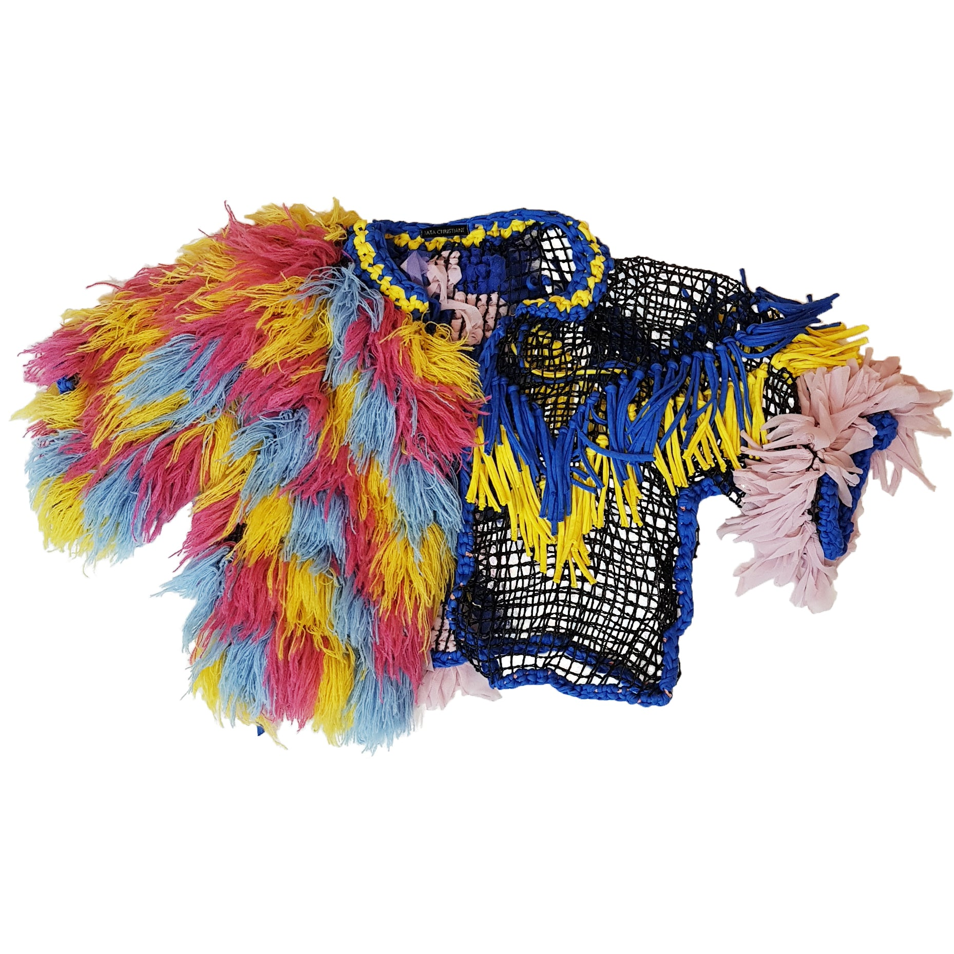 BOLERO PINK AND BLUE AND YELLOW