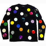 BALLS LONG SLEEVE TEE BLACK