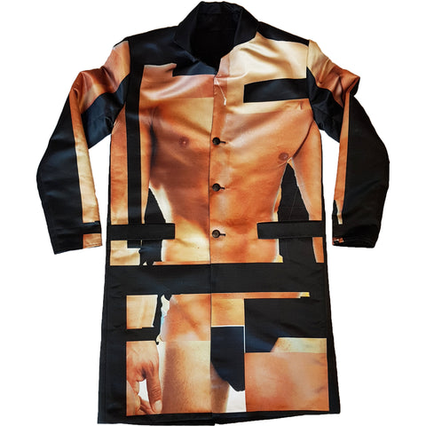 HUMAN BODY REVERSIBLE JACKET