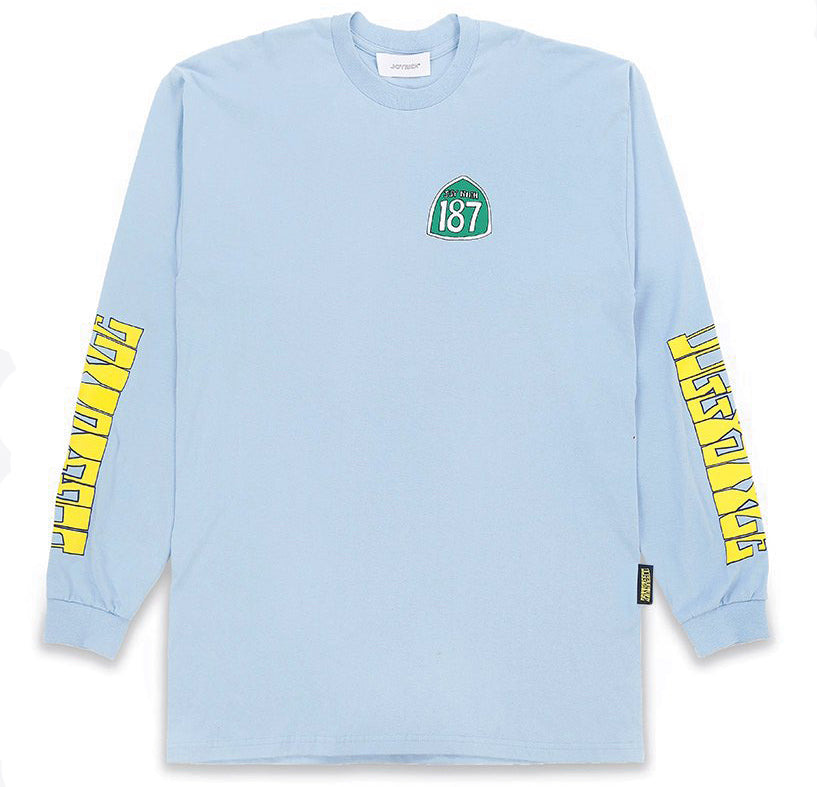 Freeway L/S Tee Oversized / Light Blue