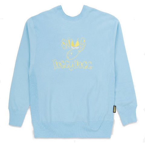 Doggy Dogg Crewneck Oversized / Light Blue