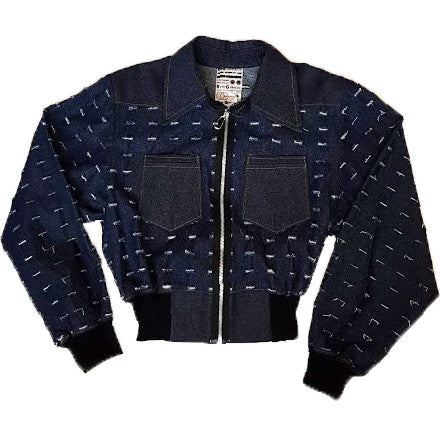 SLASHED DENIM JACKET