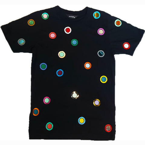 SUPER BINDI TEE BLACK