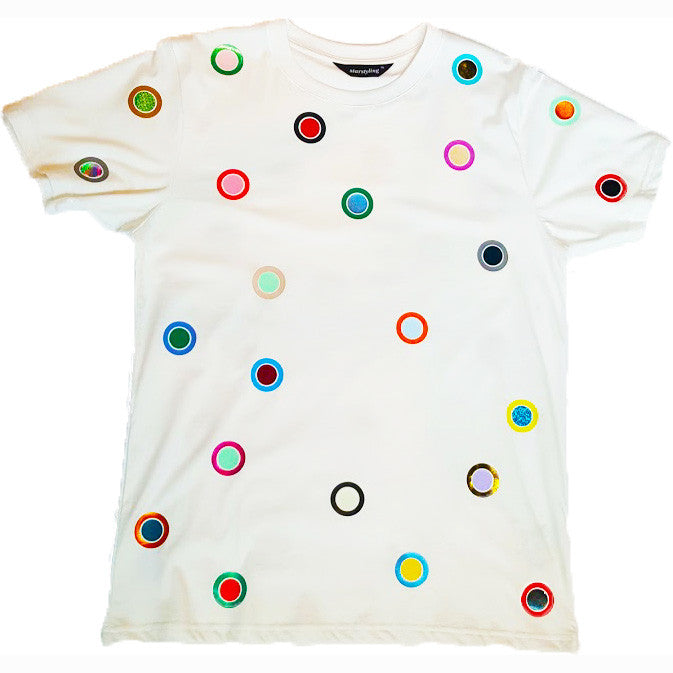 SUPER BINDI TEE WHITE