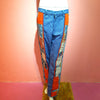 Quilt Patch Denim Pants