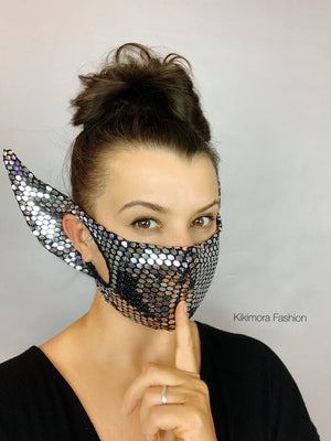 MIRROR ELF MASK