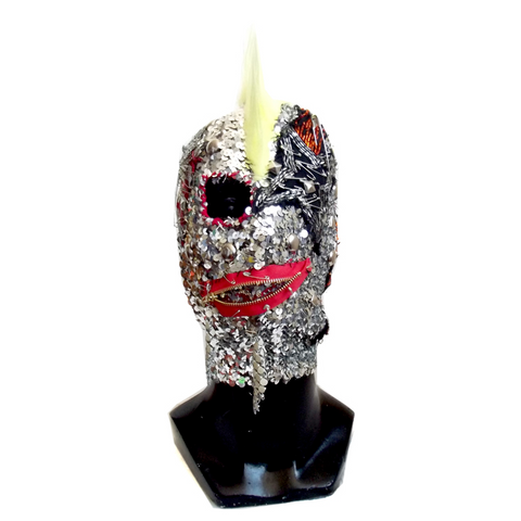 SEQUIN PUNK MASK