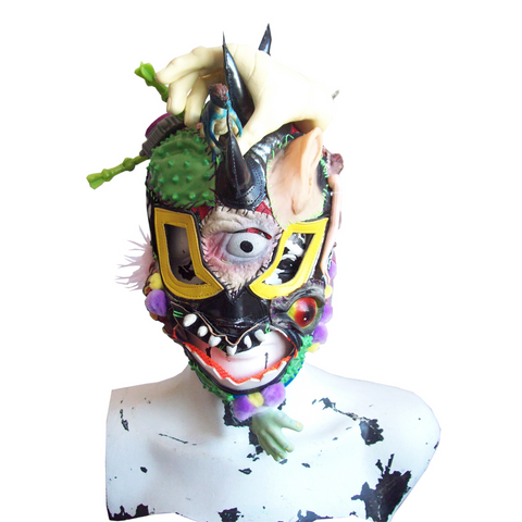 """MEXICAN LUCHA"" MASK HANDMADE 2"