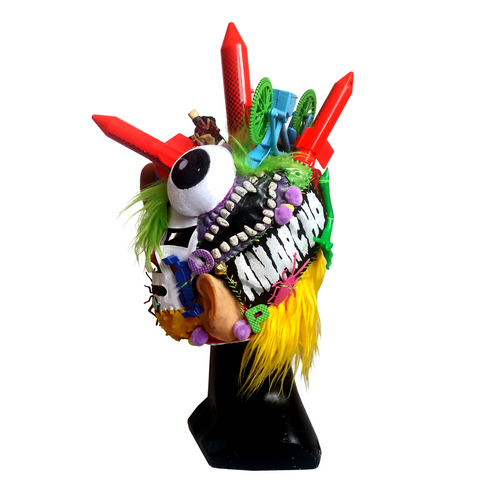 """MEXICAN LUCHA"" MASK HANDMADE 1"