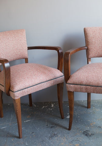 Bridge Chairs | Covered in Osbone & Little Markham Fabric