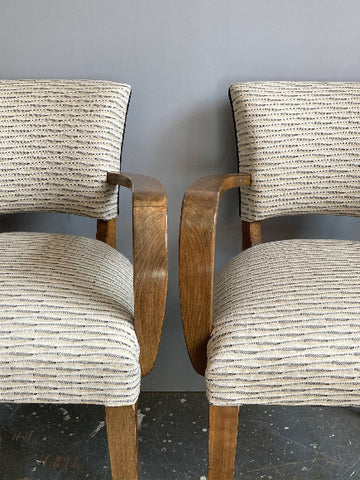Bridge Chairs | Covered in Swaffer Fabric