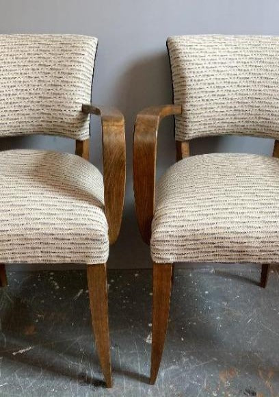 Vintage Bridge Chairs in Swaffer fabric