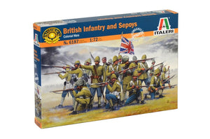 Italeri British Infantry and Sepoys