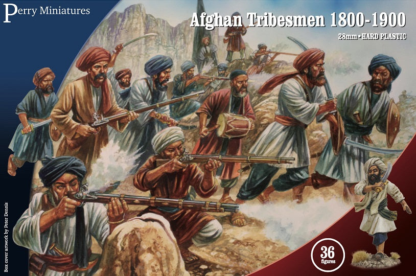 Perry Miniatures Afghan Tribesmen 1800-1900