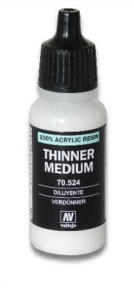 Vallejo 200 Thinner Medium (70.524)
