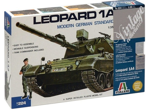 Italeri Leopard 1A4 (Limited Edition)