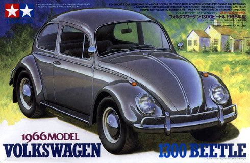 Tamiya 1/24 Volkswagen 1300 Beetle 1966 Model