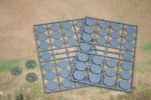 Renedra 25mm Diameter Paved Effect Bases