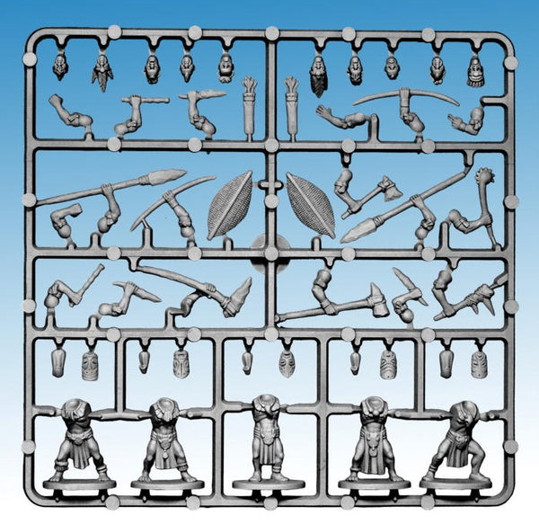 GHOST ARCHIPELAGO Tribals 'Frostgrave' Single Sprue