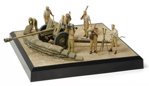 Tamiya 1/35 German 7.62cm Pak36(r) North Africa Scenery Set