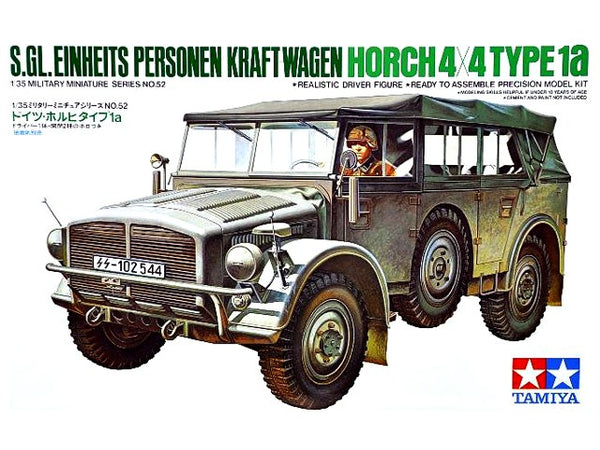 Tamiya German Horch 4x4 Type 1a