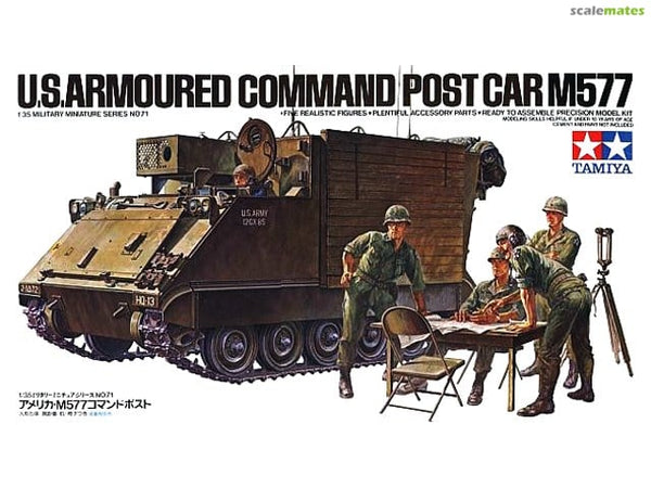 Tamiya U.S. M577 Armoured Command Post Car